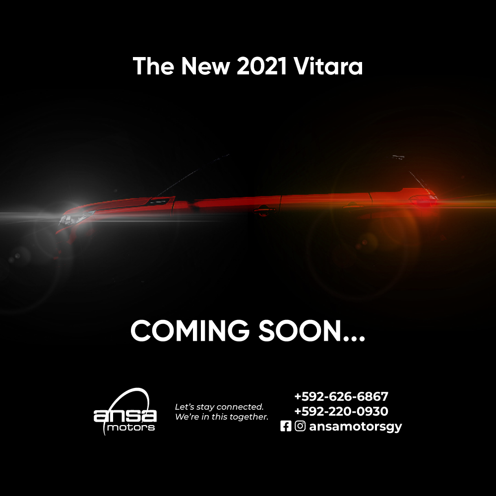 Ansa Motors 2021 Vitara Launch